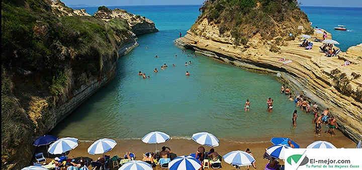 playas isla Corfu