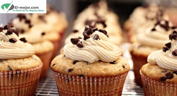 Cupcakes de chocolate chips