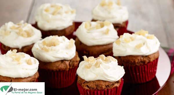 Receta de Cupcakes con Glaseado de Limón