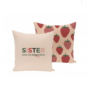 "Regalo cojín ""sister"" para hermana"