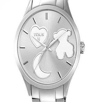 d728008d10 Si te gusta el color plata y la marca Tous, te puedo asegurar que este  reloj te gustará. El mismo ha sido fabricado con acero inoxidable, tanto en  la correa ...