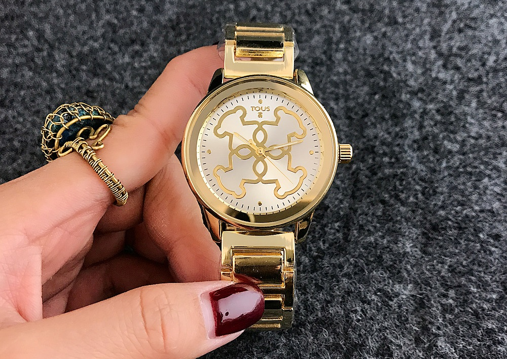 d7a1f2671eda Una de las mejores marcas de relojes para mujer es la marca Tous. Si te  gusta esta marca