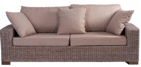 sofa de fibras naturales