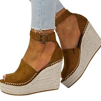 Zapatos de fiesta de cuña Logobeing