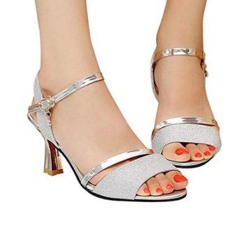 Zapatos de fiesta de lentejuelas